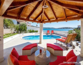 Sea front Villa 5 meters from the Sea with Private Heated Pool