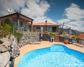 Luxurious accommodation with swimming pool and sea views
