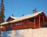 Large mountain cabin on Sjusjoen