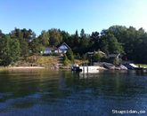 Paradise in the archipelago in Stockholm