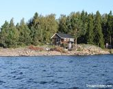 Rent your own island with cottage and sauna
