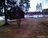 Vuokatti log cabins by the lake